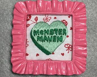 Monster Maven Conversation Heart