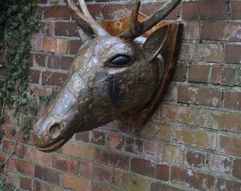 One Off handmade stags head