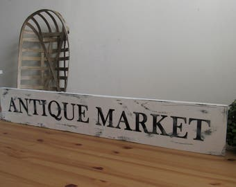 Antique Market Sign, Antique Sign,  farmhouse decor, , Farmhouse Sign, Farm House, fixer upper sign