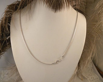 Sterling Silver 24 Inch Snake Chain