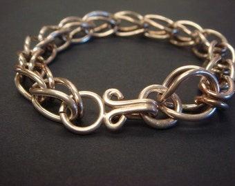 Silber-Armband, verbunden