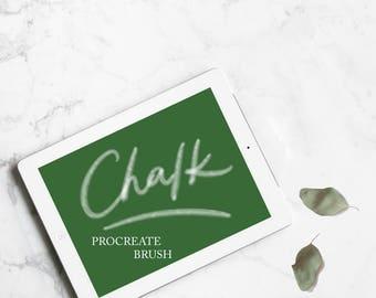 Procreate Brush - Chalk Pen