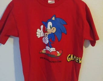 Sonic The Hedgehog Sega Game Works T Shirt