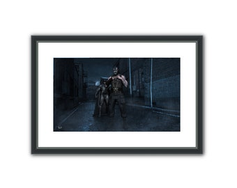 Bane - Surreal Conceptual Fantasy Sci-Fi 3D Digital Poster, or Fine Art Print
