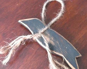 Primitive Crow Ornament