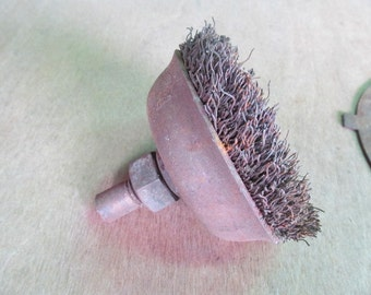 Round Steel Brush Rusty Wire Brush