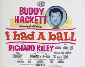 Sealed Mint - I Had A Ball, Buddy Hackett, 1964 Original Broadway Cast Vinyl LP Record, FACTORY SEALED!