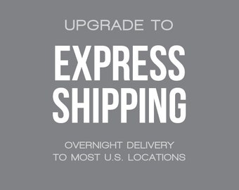 UPGRADE : Express Shipping via USPS