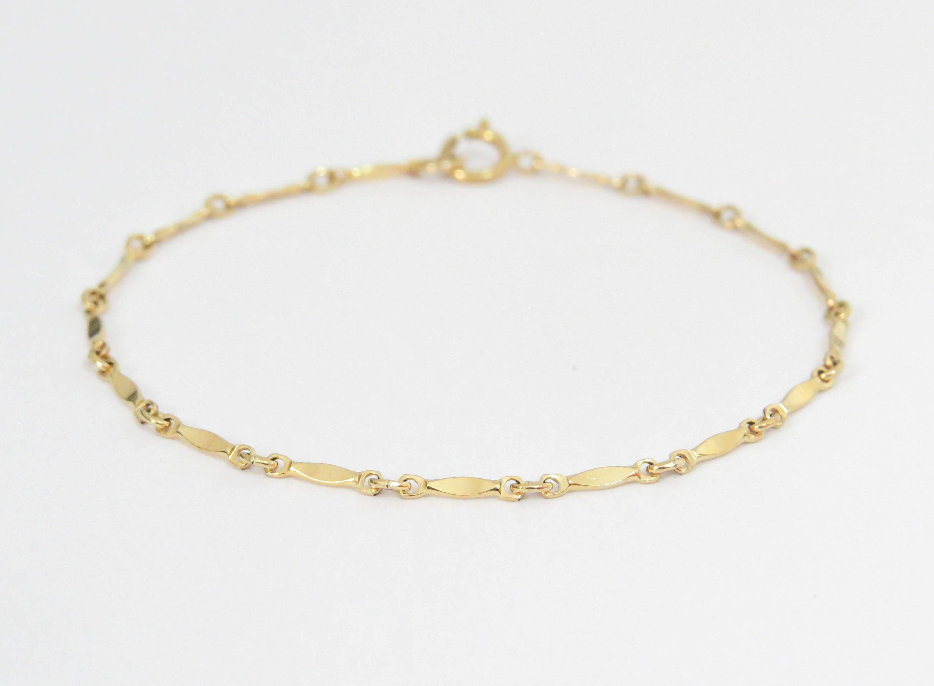 il anklet heart tags infinity custom initial p jewelry fullxfull stamped filled bracelet layered initials hand gold