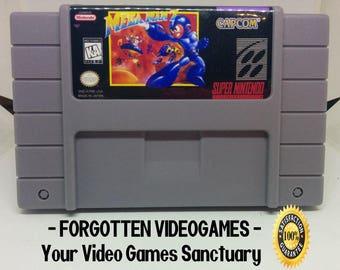 Mega Man 7 - SNES Super Nintendo