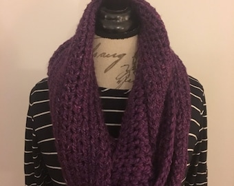 Ripley Infinity Scarf | Purple | Extra Long