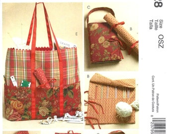 McCall's 4728 Knitting and Sewing Organizers - PATTERN