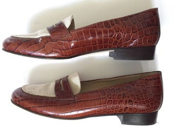 Talbots Italian Preppy Loafers