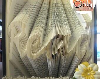 Read Folded Book Art Pattern