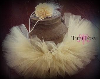 Newborn Tutu, Newborn Tutu Set, Tutu Skirt with headband, Baby Tutu, Baby Skirt, Infant Tutu, Newborn Photo Prop, Newborn girl photo
