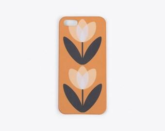 Tulip iPhone Case in Mustard Yellow