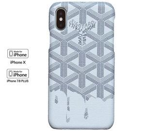 Monogram GYD iphone case iphone X, 7/8 Regular, & 7/8 Plus Case