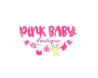 Premade logo, Premade Logo Design, Only One Available, Baby Logo, Child Logo, Children Logo, Nursery Logo, Kid Logo, Clothing Logo, Boutique