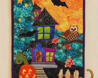 Halloween Patch Wall Hanging Kit
