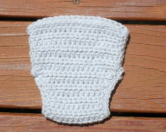 Gray Diaper Cover, Crochet Diaper Cover, Pull On Diaper Cover, Diaper Cover Boy, Diaper Cover Girl, Newborn Prop, Baby Photography