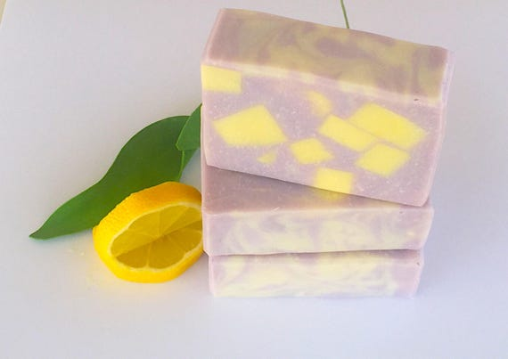Lavender Lemonade Soap