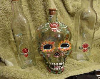 Dia de Muertos Sugar Skull sand set Halloween mexican wedding must have