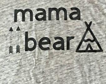 Mama Bear Women's T-shirt