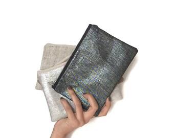 Mini Clutch Bag, Small Clutch, Zip Pouch