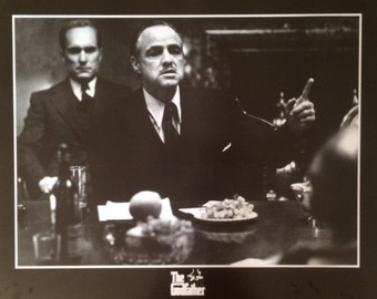 WALL ART, POSTER, Godfather Poster Marlon Brando 24 x32