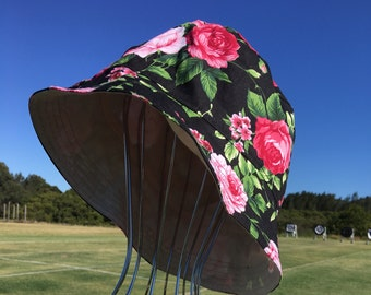 Adult Bucket Hat for Archery, Beach or Anywhere - size S, M or L