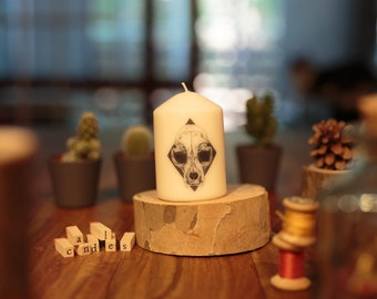 Candles: 10 cm - choose the candle of your choice