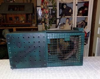 GAG Gift called a Mongoose Cage...Handmade. Fun for everyone, but beware~!