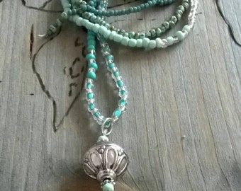 ⭐ beaded of ⭐ pendant necklace ball