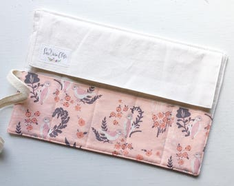 Shorty Pen Roll // Feathered Fellow Blush by Bonnie Christine