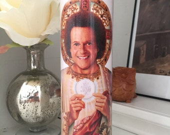 St Richard Simmons Prayer Candle