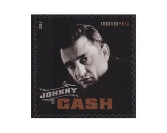 2013 Forever 50c Johnny Cash - 5 Unused Postage Stamps - Item No. 4789