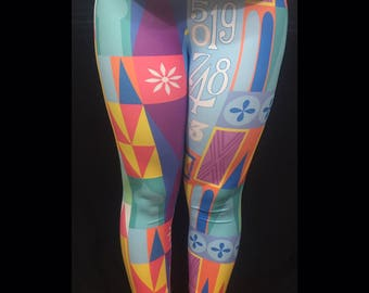 Made to Order (Ships in 6 weeks)  A Smile Means Friendship To Everyone Inspired Leggings Capri or Full Length
