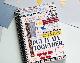 Put It All Together Daily Planner 2018