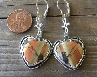 Heart earrings your choice to pick