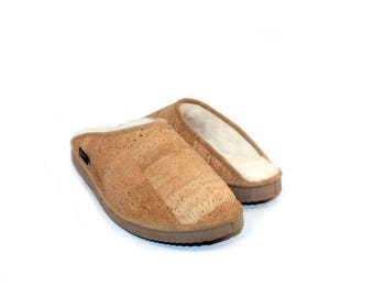 Natural Cork Slippers