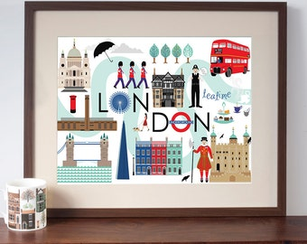 Art Print of London