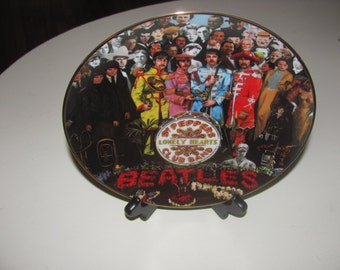 Sgt. Peppers Lonely Hearts Club Band Collector Plate