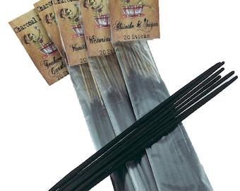 Teakwood and Cardamom Charcoal Incense 20 Sticks
