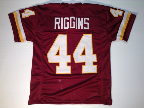 John Riggins UNSIGNED CUSTOM Made White Jersey Itkg8lhS