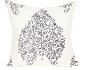 "Raj Paisley Pillow Cover 18"" x 18"""