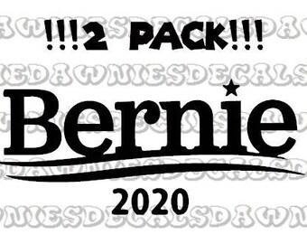 Bernie 2020 decal sticker Feel the Bern