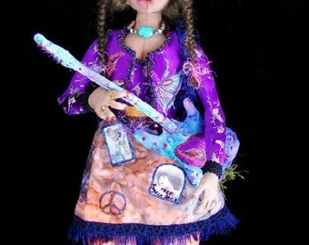 Art Doll-Willow-(Made to Order-Similar Doll by Request)