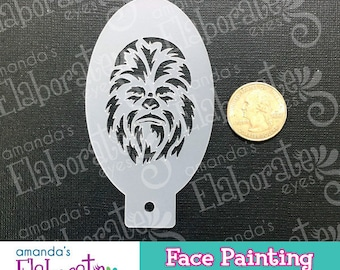 S.W. CHEWY - Face Painting Stencil (Mini)