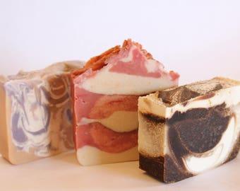 Eat Me Gift Box, Homemade Goat Milk Soap