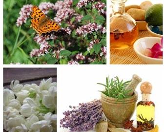 Triple Eigch Pharmacys Organic Herbal Oil & Essential Oil Package (Limited Edition)